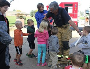 Daycare with Fire Department