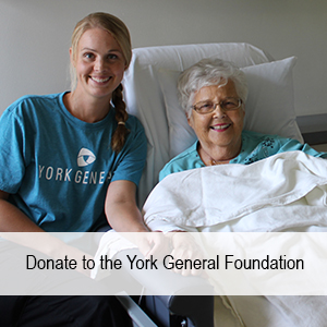 Click here to donate to the York General Foundation